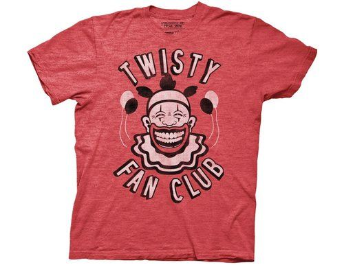 American Horror Story Twisty Clown Fan Club T-Shirt Tee