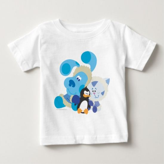 Blue's Clue - Blue, Periwinkle, and Penguin Baby T-Shirt