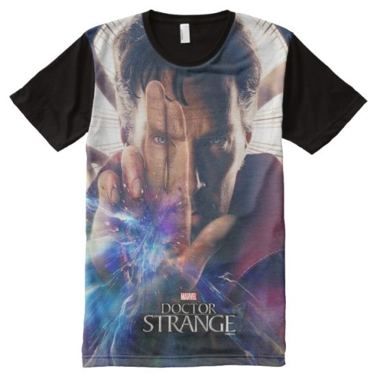 Doctor Strange Mystic Hand Movie Poster All-Over Print T-shirt
