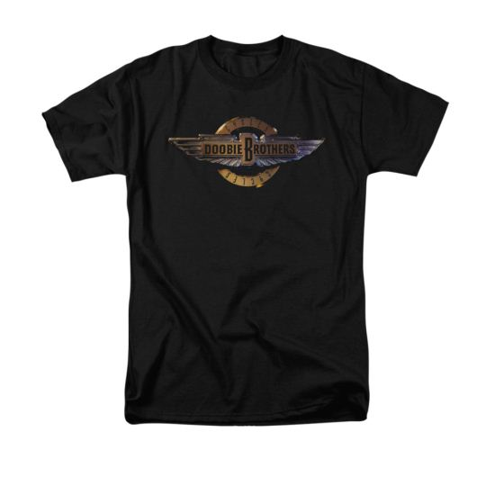 The Doobie Brothers Shirt Cycles Black T-Shirt