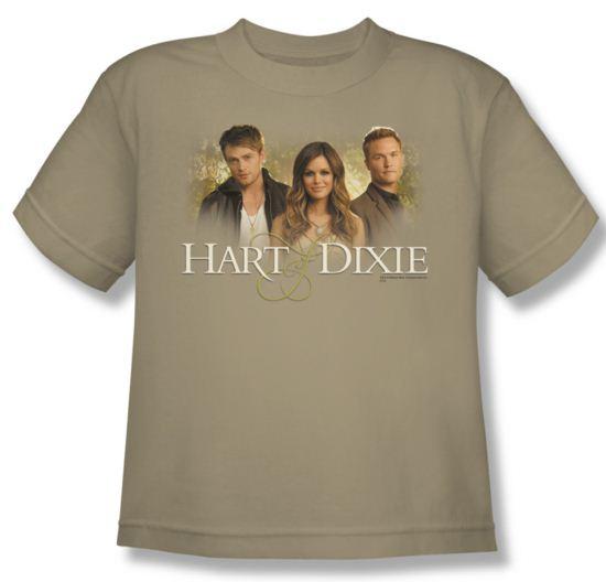 Hart Of Dixie Shirt Kids Cast Sand Youth Tee T-Shirt