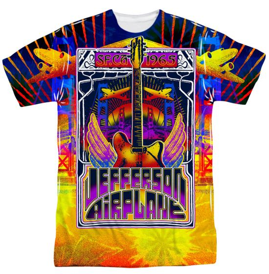 Jefferson Airplane San Francisco Sublimation Shirt