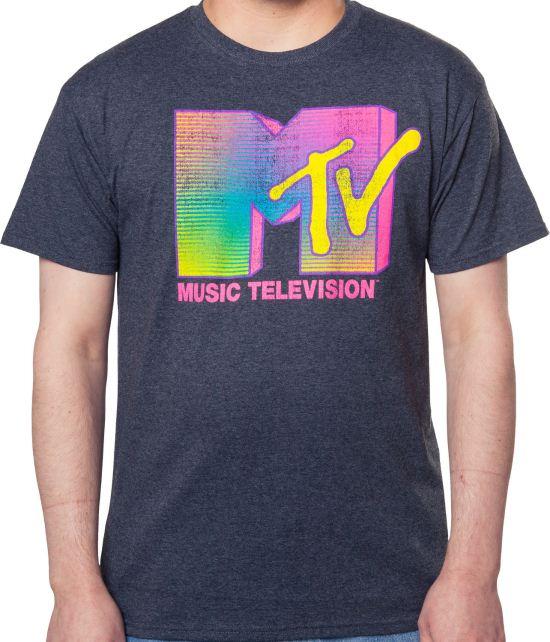 Neon MTV Logo Shirt