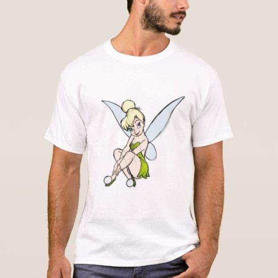 Sketch Tinkerbell Disney T-Shirt