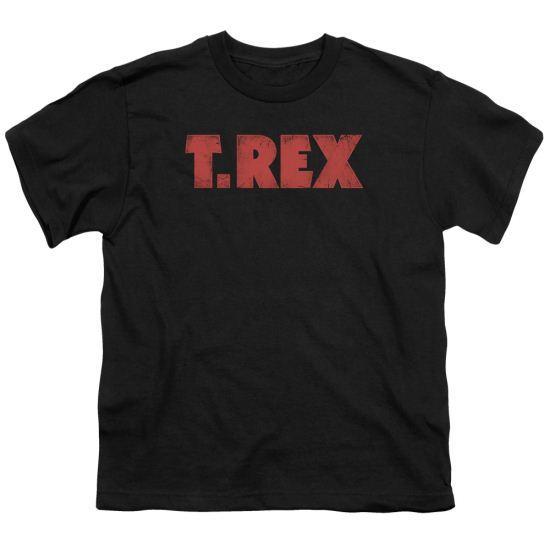 T.Rex Shirt Kids Logo Black T-Shirt