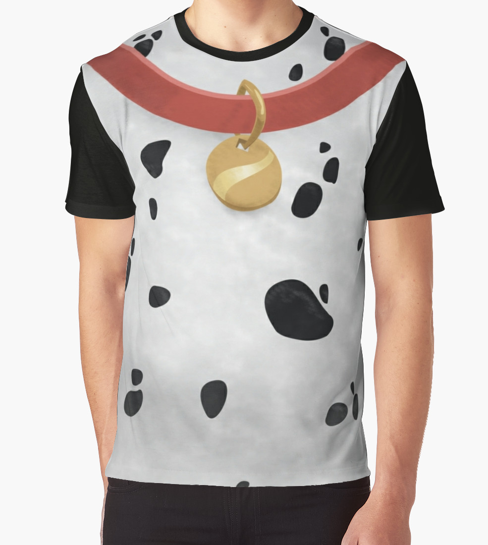 101 Dalmatians Graphic T-Shirt by esteesdave T-Shirt