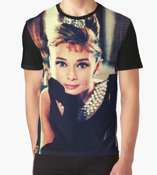 Audrey Hepburn  Graphic T-Shirt by ZSepaul T-Shirt