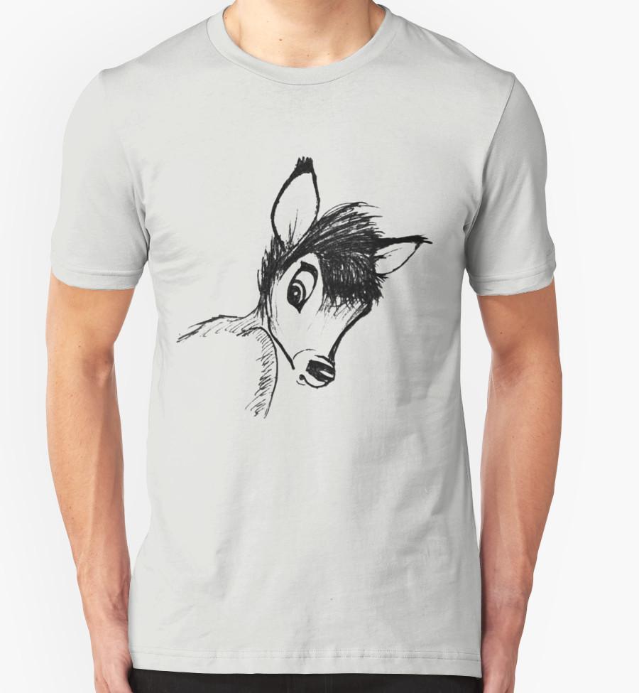 Bambi T-Shirt by Aleksandra Kurczewska T-Shirt