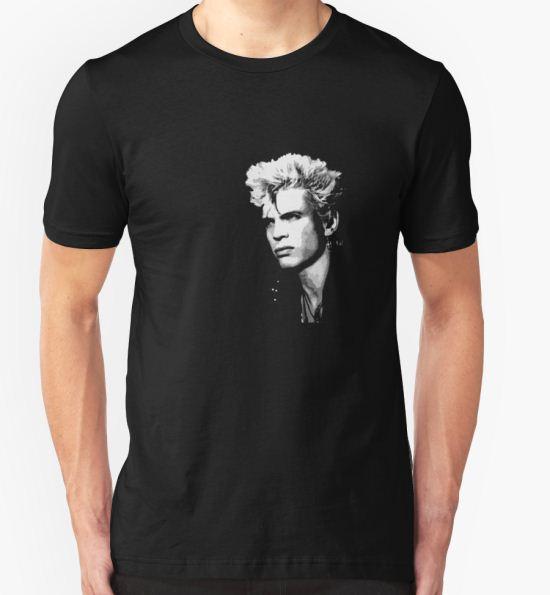 Billy Idol T-Shirt by Jip v K T-Shirt