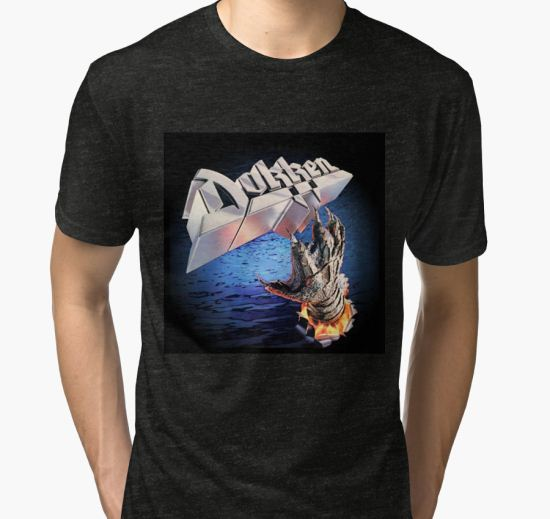 Dokken Tooth and Nail Tri-blend T-Shirt by Carter Mould T-Shirt