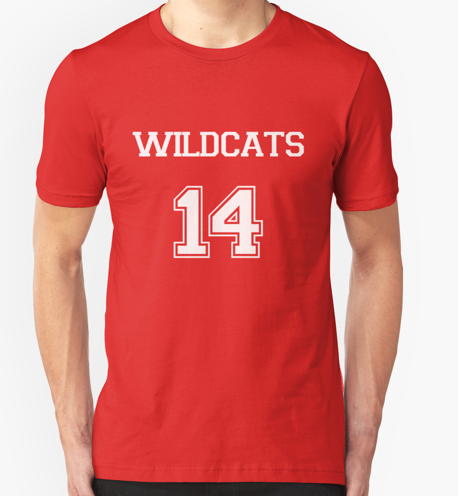 WILDCATS TROY BOLTON HIGH SCHOOL MUSICAL T-Shirt by Whatamidoing20 T-Shirt