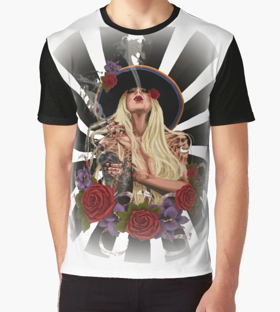 Maria In This Moment  Graphic T-Shirt by BrunaAmorim T-Shirt