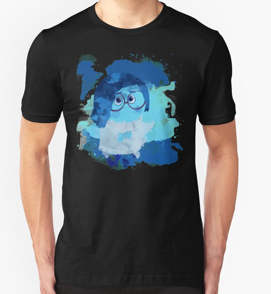 Sadness T-Shirt by zcrb T-Shirt