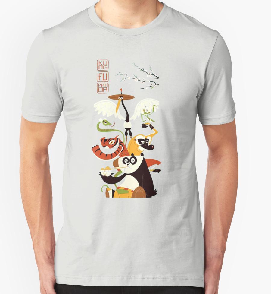 Kung Fu Panda 3 T-Shirt by syahrini T-Shirt