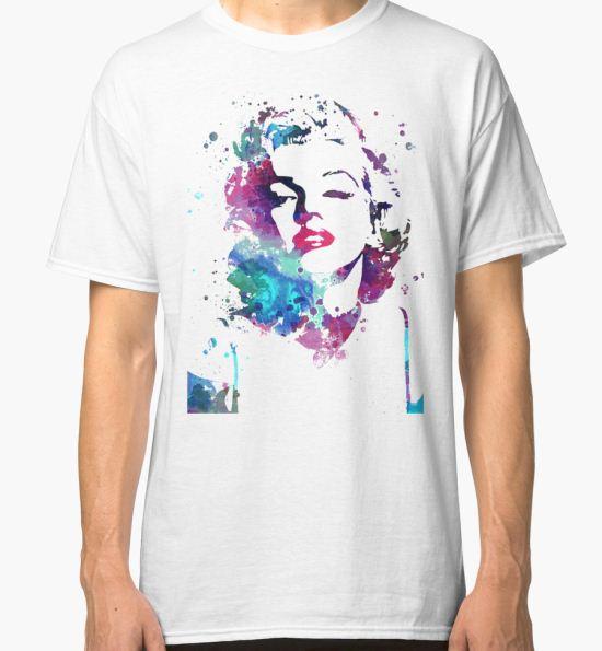 Mary Classic T-Shirt by Tiltedgiraffes T-Shirt