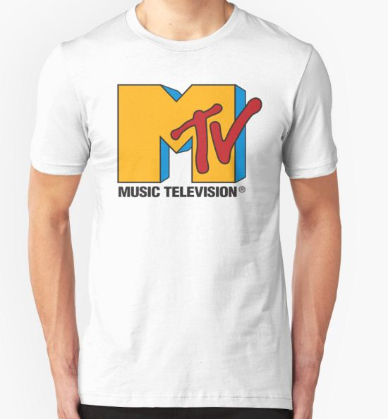MTV 90's Logo T-Shirt by BlueWallDesigns T-Shirt
