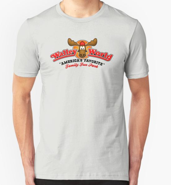 WALLEY WORLD - NATIONAL LAMPOONS VACATION (1) T-Shirt by SUPER-TEES T-Shirt