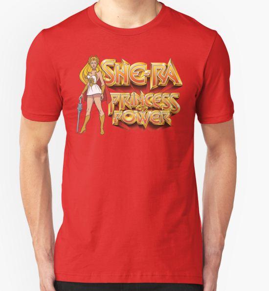 She-ra Princess of Power T-Shirt by derelictdesigns T-Shirt