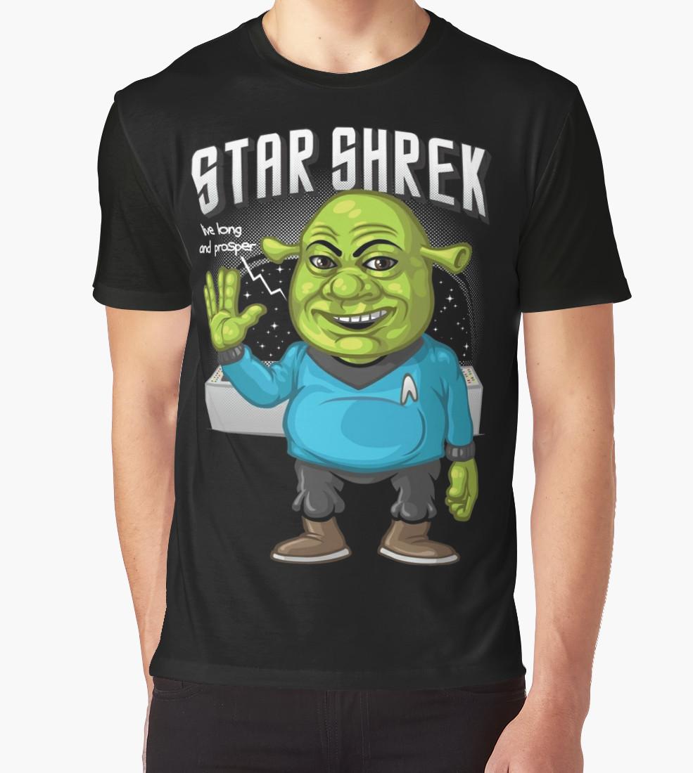 Star Shrek Graphic T-Shirt by Patrol T-Shirt