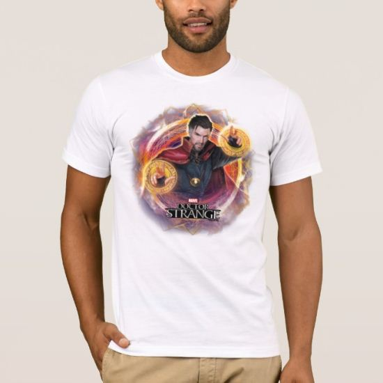 Doctor Strange Mandalas of Light Graphic T-Shirt