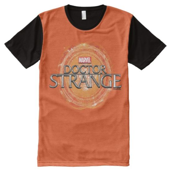 Doctor Strange Movie Logo All-Over Print T-shirt