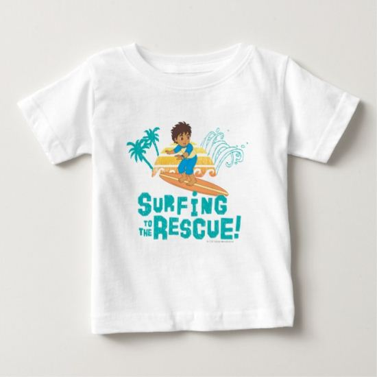 Go Diego Go! | Surfing to the Rescue Baby T-Shirt