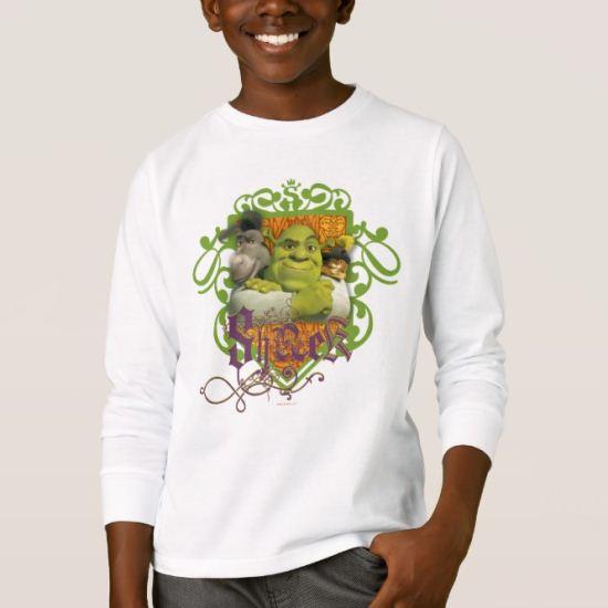 Shrek Group Crest T-Shirt