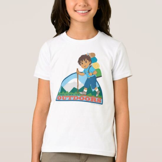 Go Diego Go! | The Great Outdoors T-Shirt