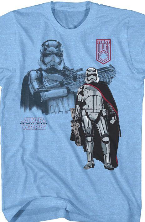 Star Wars Force Awakens Phasma T-Shirt