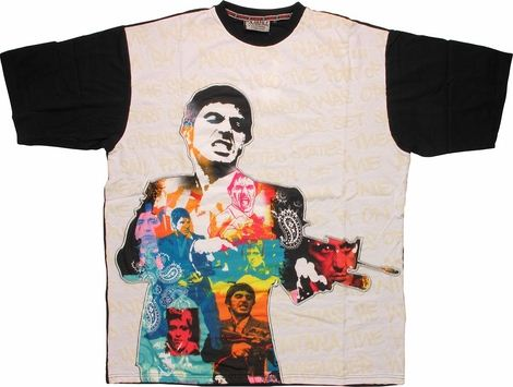 Scarface Montage in Body T-Shirt