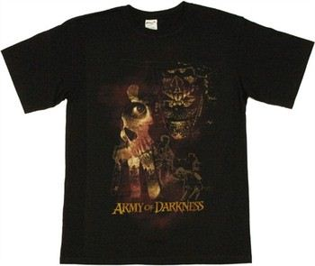 Army of Darkness Evil Collage T-Shirt