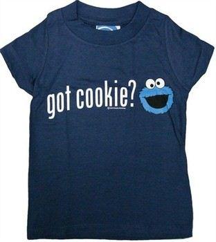 Sesame Street Cookie Monster Got Cookie Toddler T-Shirt
