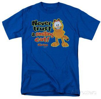 Garfield - Smiling