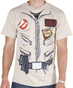 Egon Spengler Ghostbusters Shirt