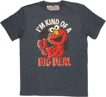 Sesame Street Elmo I'm Kind of a Big Deal T-Shirt Sheer