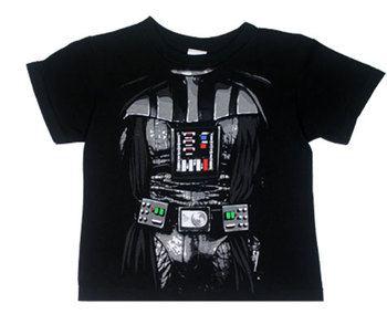 Darth Vader Costume - Star Wars Juvenile T-shirt