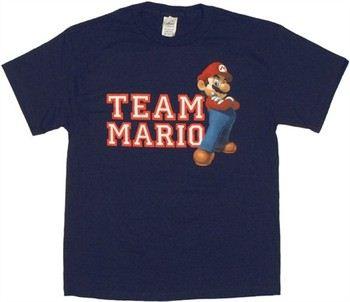 Nintendo Super Mario Team Mario T-Shirt