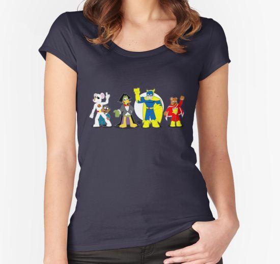 UK Toonz Women's Fitted Scoop T-Shirt by DrewBird T-Shirt