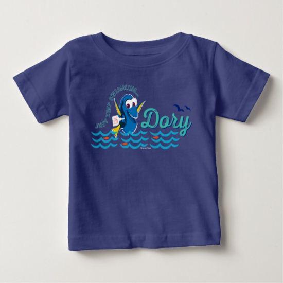 Dory   Just Keep Swimming Baby T-Shirt