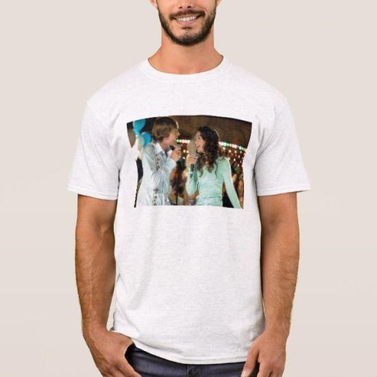 High School Musical Troy and Gabriella singing T-Shirt