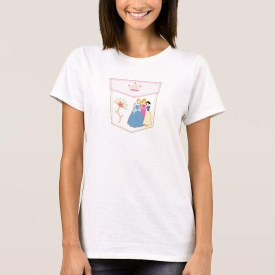 Disney Princesses Pocket T-Shirt