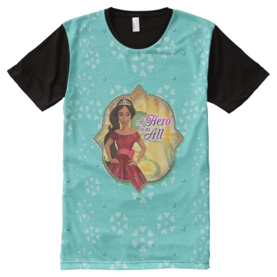 Elena | A Hero To Us All All-Over Print T-shirt