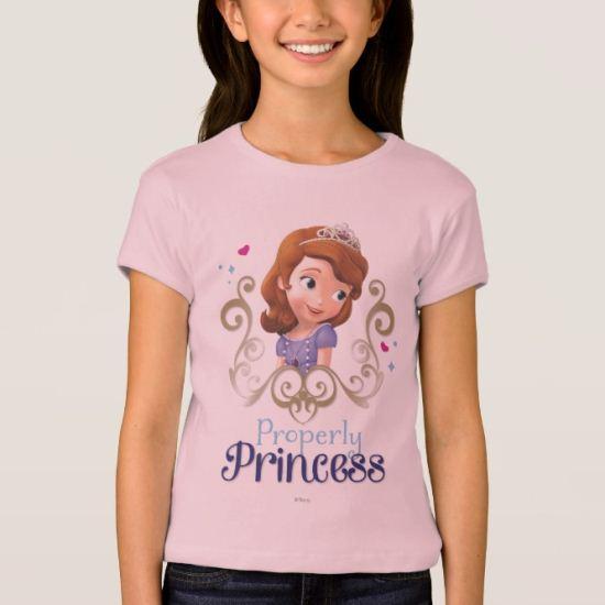 Sofia: Properly Princess T-Shirt