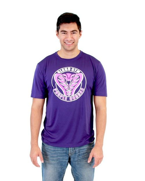 Dodgeball Globo Gym Purple Cobras Adult Costume Performance Shirt