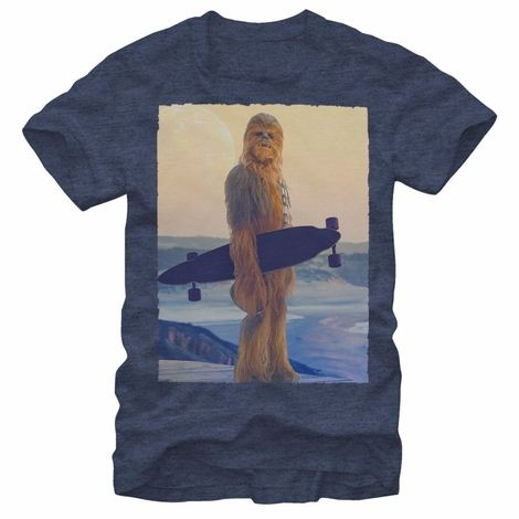 Star Wars Chewbacca Longboard T-Shirt