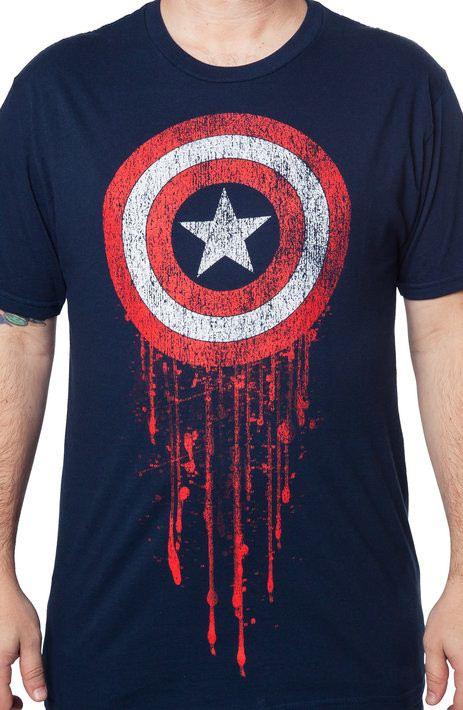 Captain America Battle-Worn T-Shirt