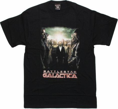 Battlestar Galactica Crossroads T Shirt