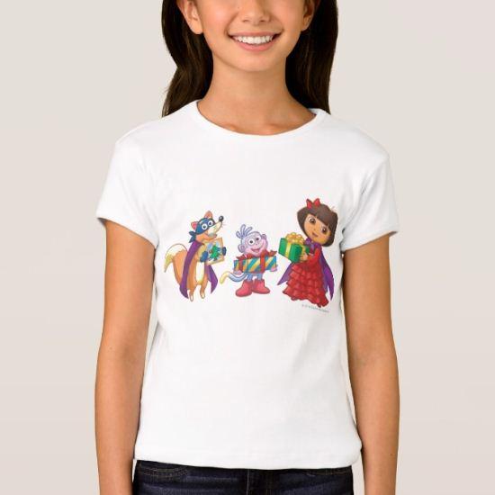 Dora The Explorer | Dora, Boots & Swiper T-Shirt