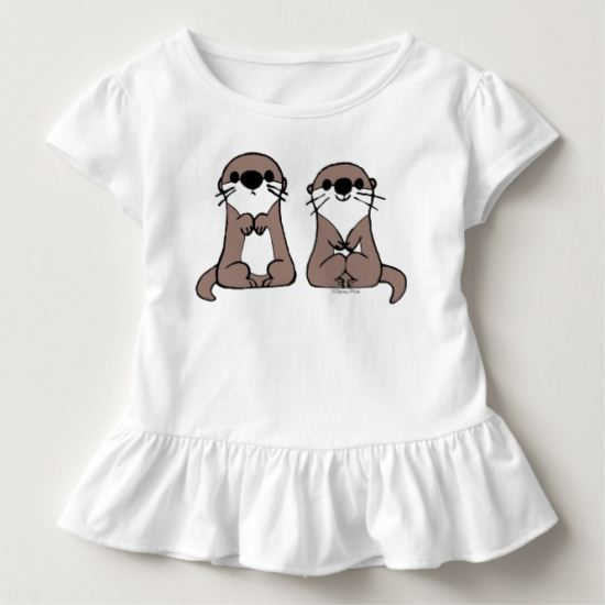 Finding Dory | Otter Cartoon Toddler T-shirt