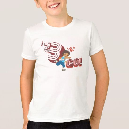Go Diego Go!   1,2,3 Go! T-Shirt